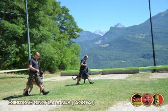 Esibizione cinofila a Nus(Aosta) - 3
